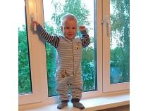 Раскрытое окно – угроза для ребенка
